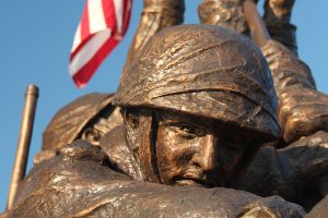 Welcome Home Solider Statue