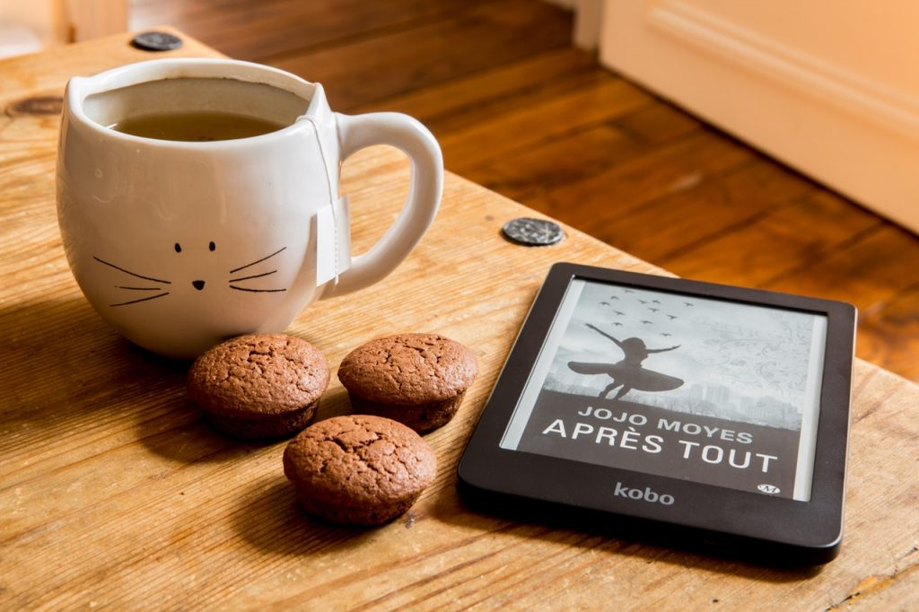 eBook and a good cup of coffee